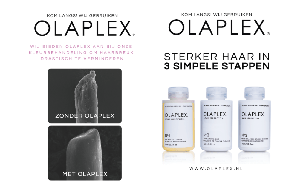 Olaplex gebruiken
